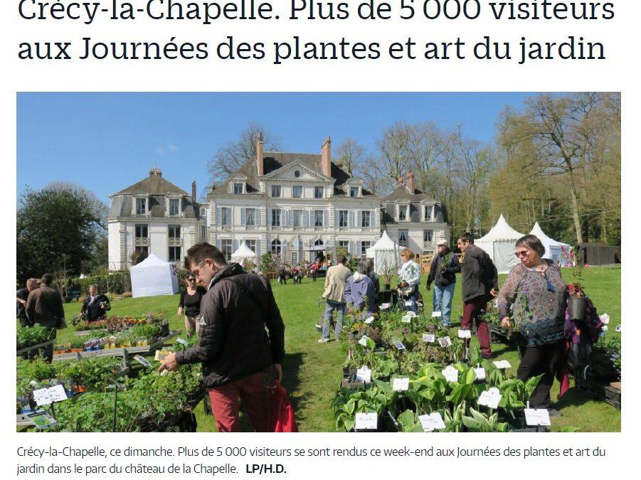 Plus de 5000 visiteurs aux Journées des Plantes & Art du Jardin